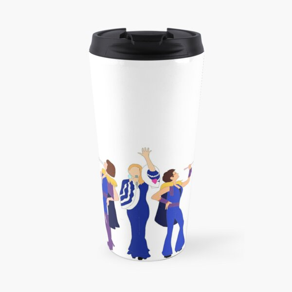 Donna and the Dynamos - Mamma Mia Travel Mug
