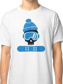 Snowboard skull Classic T-Shirt