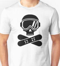 Snowboard skull goggles T-Shirt