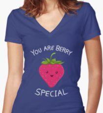Fruity Truth v2 Women's Fitted V-Neck T-Shirt