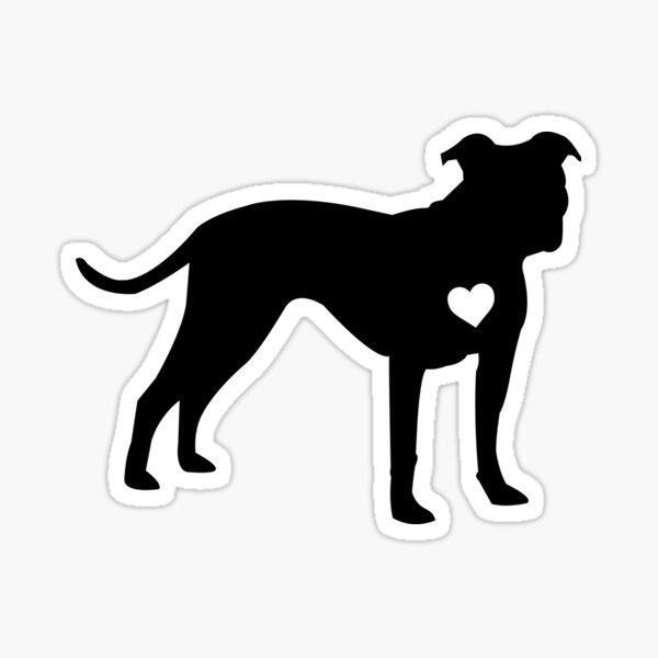 Pittbull Love Sticker