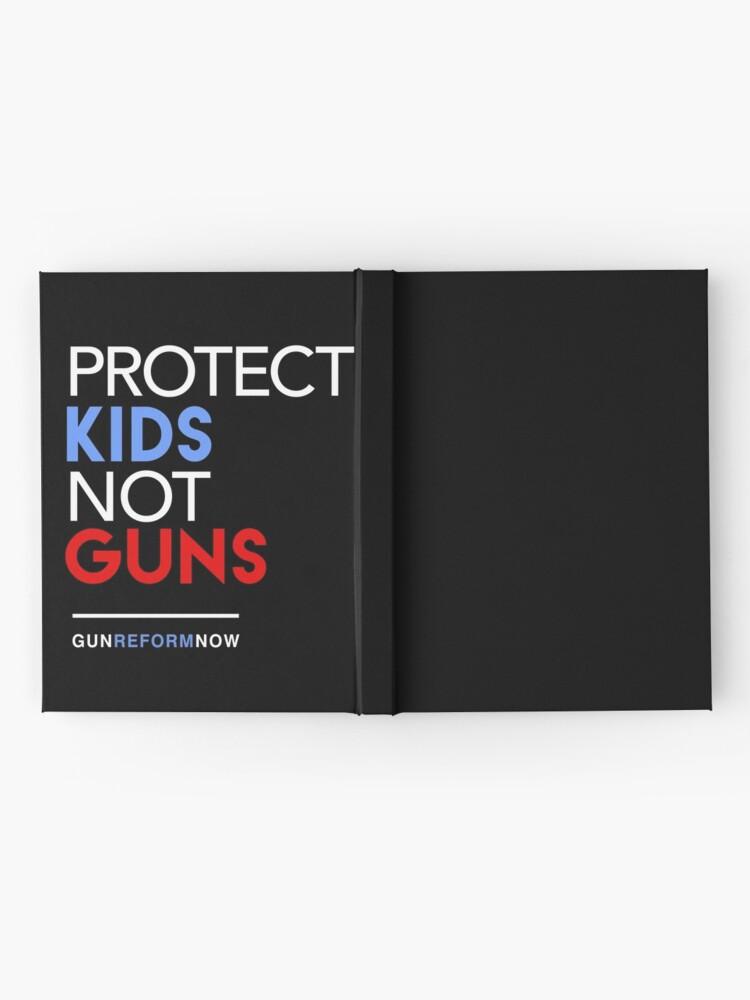 Alternative Ansicht von Schützen Sie Kinder nicht gewehrt Notizbuch