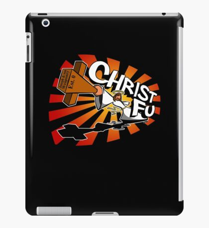 Christ Fu - Love Thy Unconscious Enemy iPad Case/Skin