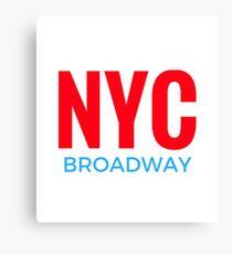 NYC Broadway Canvas Print