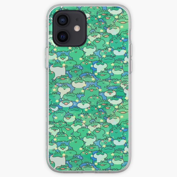 Frog Party iPhone Soft Case