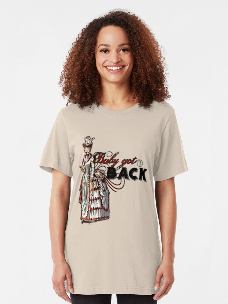 Alternate view of Baby Got Back Slim Fit T-Shirt