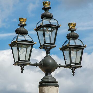 Light Detail from Greenwich Naval College by DonMc