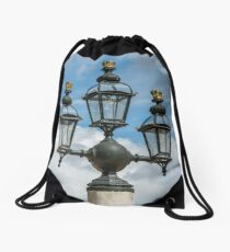 Light Detail from Greenwich Naval College Drawstring Bag