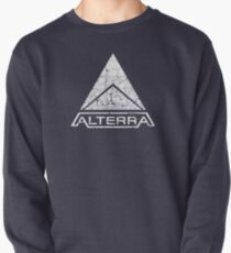 ALTERRA white logo Pullover