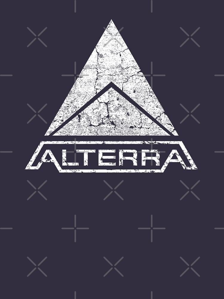 ALTERRA white logo by FbsArts