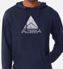 ALTERRA weißes Logo Leichter Hoodie