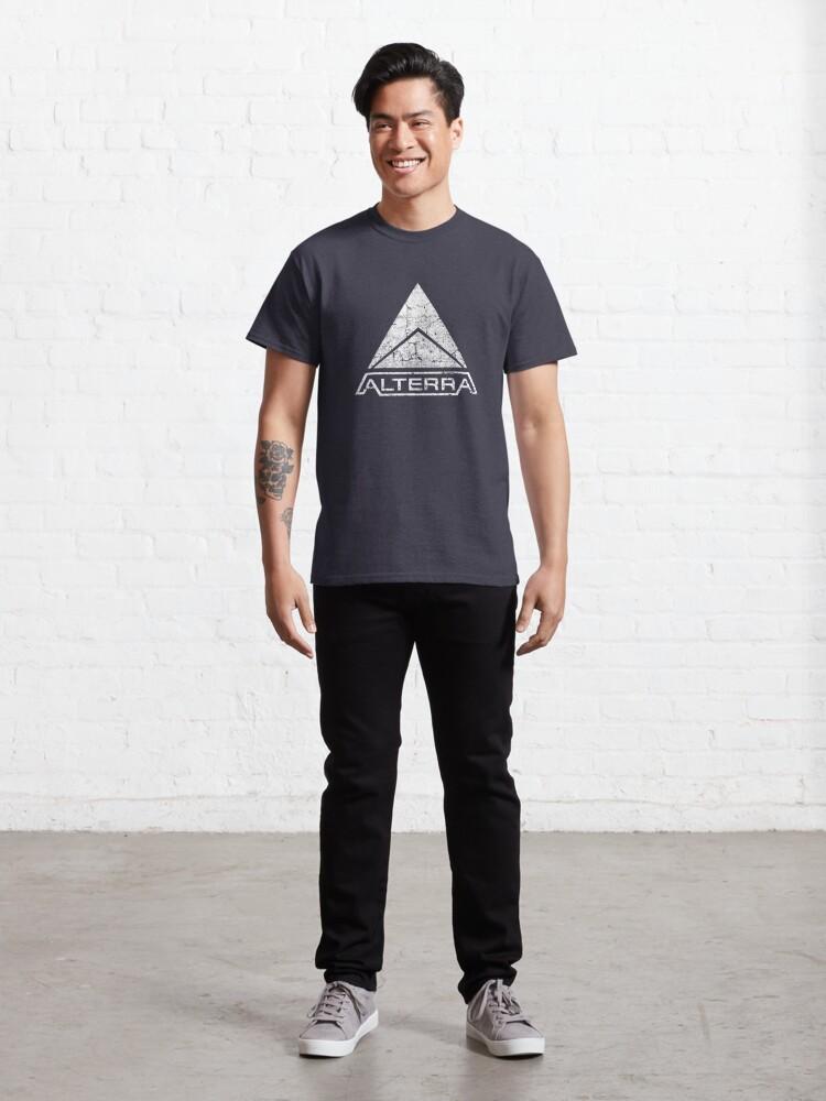 Alternate view of ALTERRA white logo Classic T-Shirt