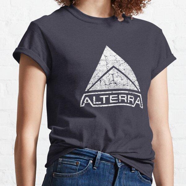 ALTERRA white logo Classic T-Shirt