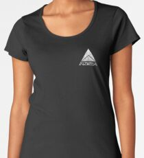 ALTERRA white logo Women's Premium T-Shirt