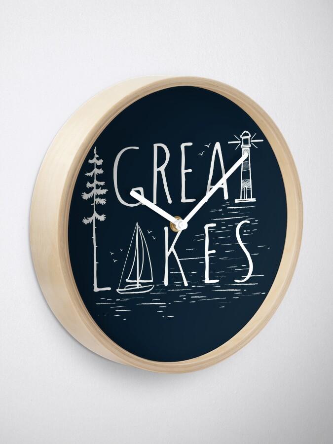 Alternate view of Great Lakes Clock