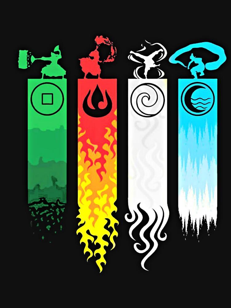 Elemental Bending: Avatar by Geralts