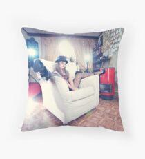 LivingRoom Lingerie Throw Pillow