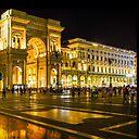 Piazza Del Duomo At Night Milan Italy Tote Bag By Brunobeach Redbubble