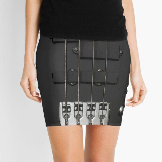 Bass Guitar Mini Skirt