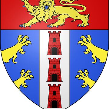 Coat of Arms of Deauville, France by PZAndrews