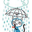 Cat in the Rain by Lyuda