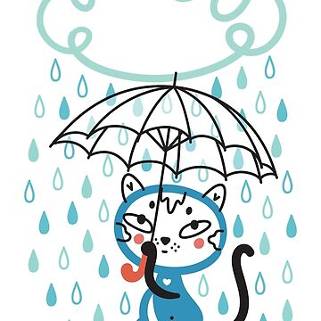 Cat in the Rain by Lyuda