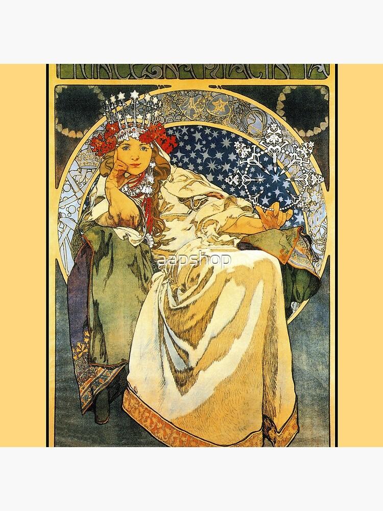 Alfons Mucha Princess Hyacinth by aapshop