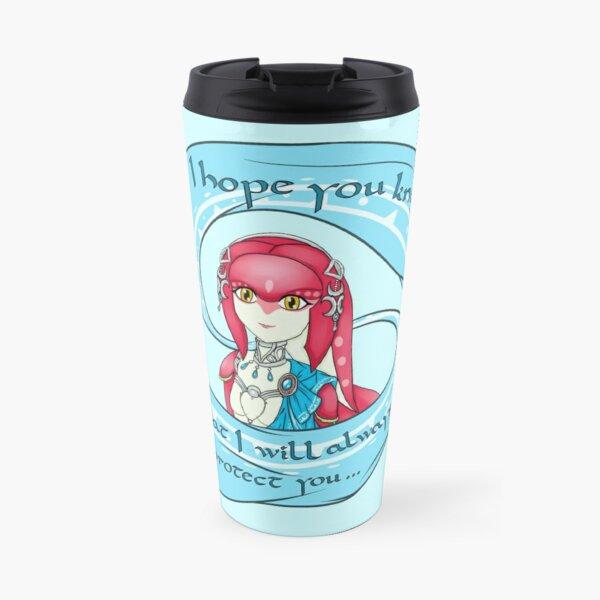 Mipha: I will always protect you Travel Mug