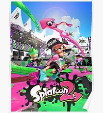 Splatoon 2 Poster Poster