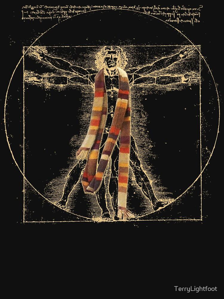 Da Vinci Meets the Doctor (Dark colors) | Unisex T-Shirt