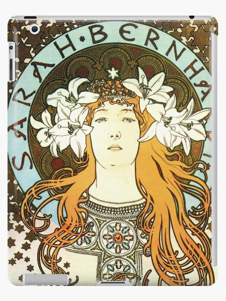 Quot Vintage Art Nouveau Alfons Mucha Sarah Bernhardt Quot Ipad