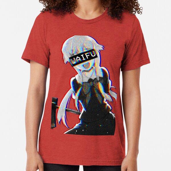 Yuno Waifu Tri-blend T-Shirt
