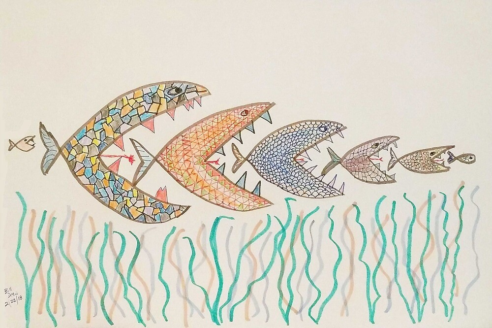 Fishes. by Branwen Drew