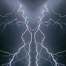 Lightning Art Abstract by Don Cox