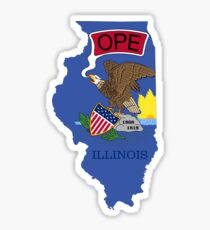 Ope: It's an Illinois Thing Sticker