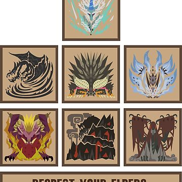 Monster Hunter World Elder Dragons by Kohs