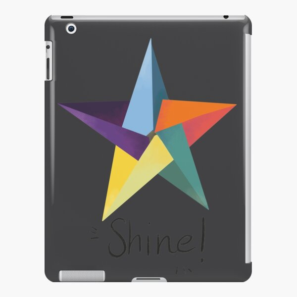 You are a star. Shine! iPad Snap Case