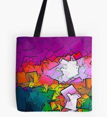 Colorized Sunrise Tote Bag