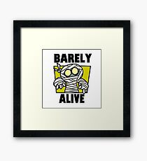 Barely Alive (colored version Framed Print