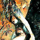 a shy glance by Astrid Strahm