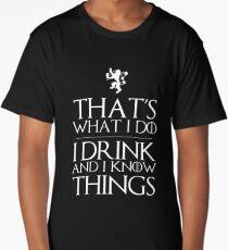 I know things Long T-Shirt