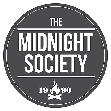 Are You Afraid of the Dark - Midnight Society Member Badge by yodalicious