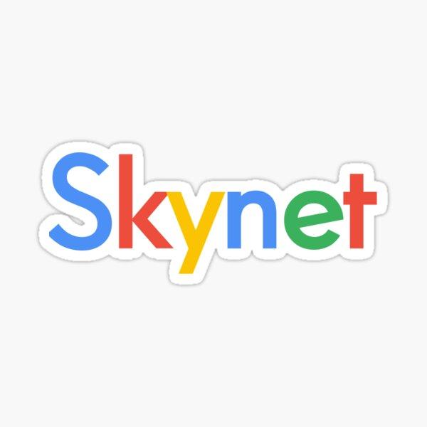 Skynet Google logo Parody kinda Funny Sticker