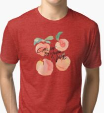 Call Me By Your Name - Peaches Tri-blend T-Shirt