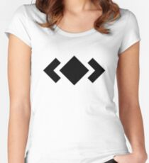 Madeon Adventure Logo - Black Women's Fitted Scoop T-Shirt
