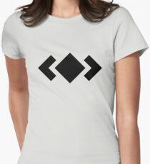 Madeon Adventure Logo - Black Womens Fitted T-Shirt