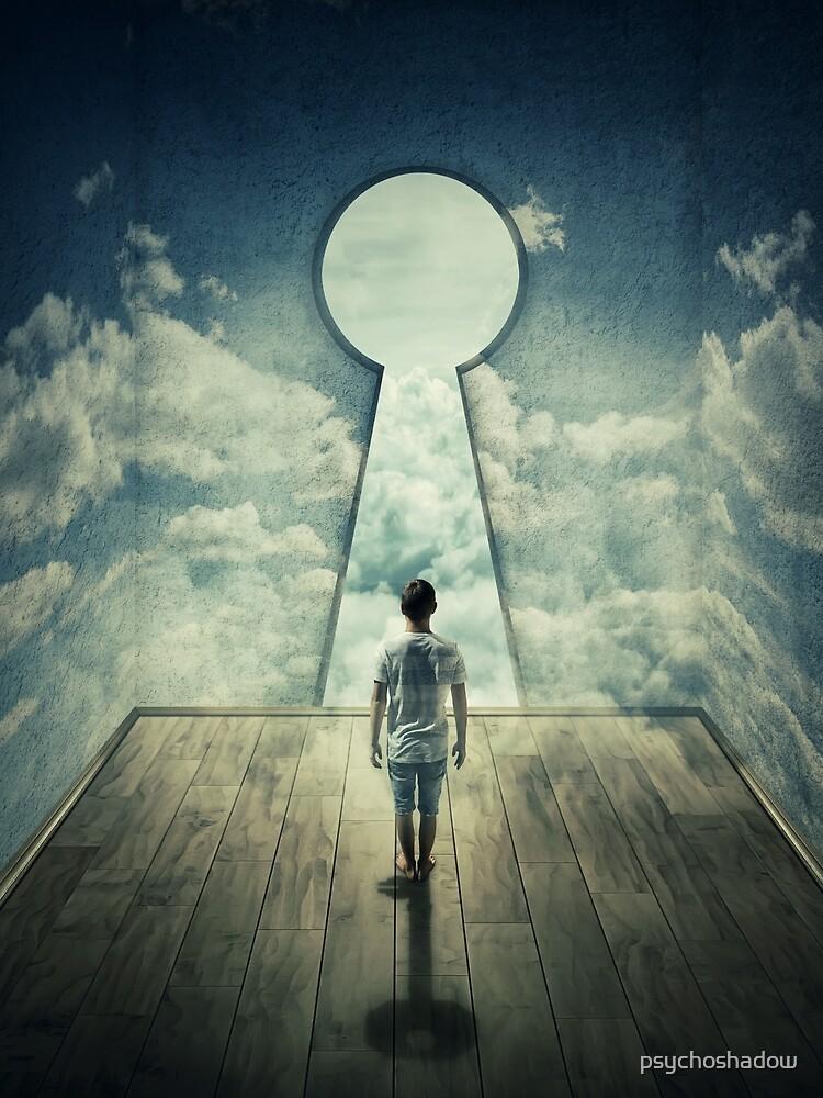keyhole by psychoshadow