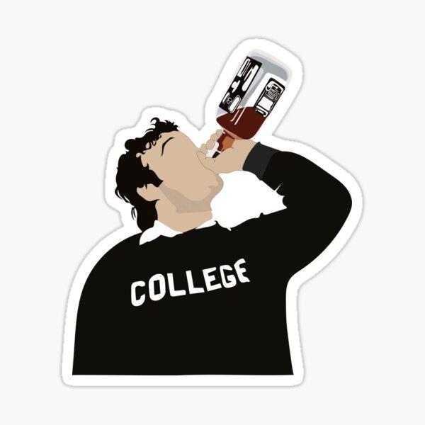 Collège John Belushi Sticker