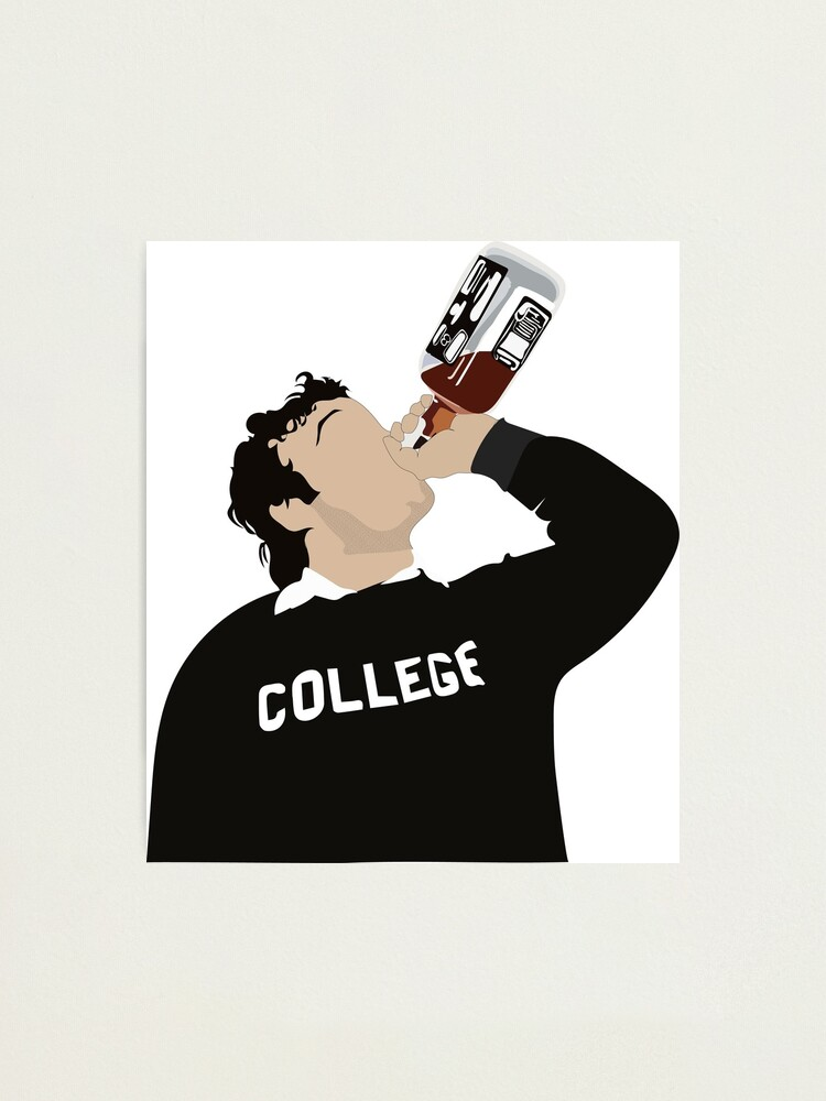 Alternate view of John Belushi College Photographic Print