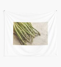 Fresh Asparagus Wall Tapestry